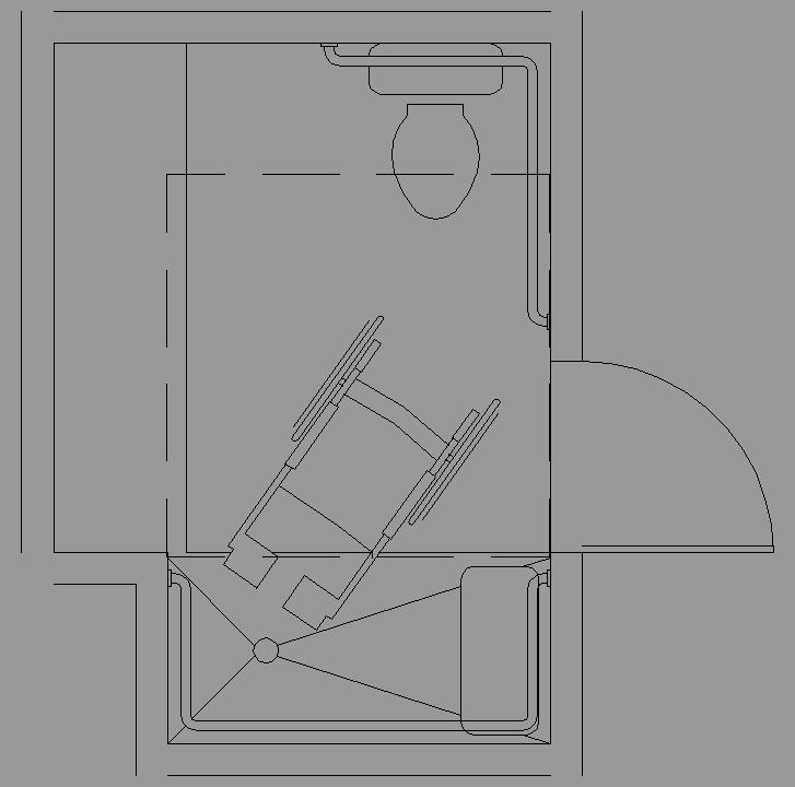 Dimensiones Baño Adaptado Minusvalidos:Bloque Autocad Dimensiones ...