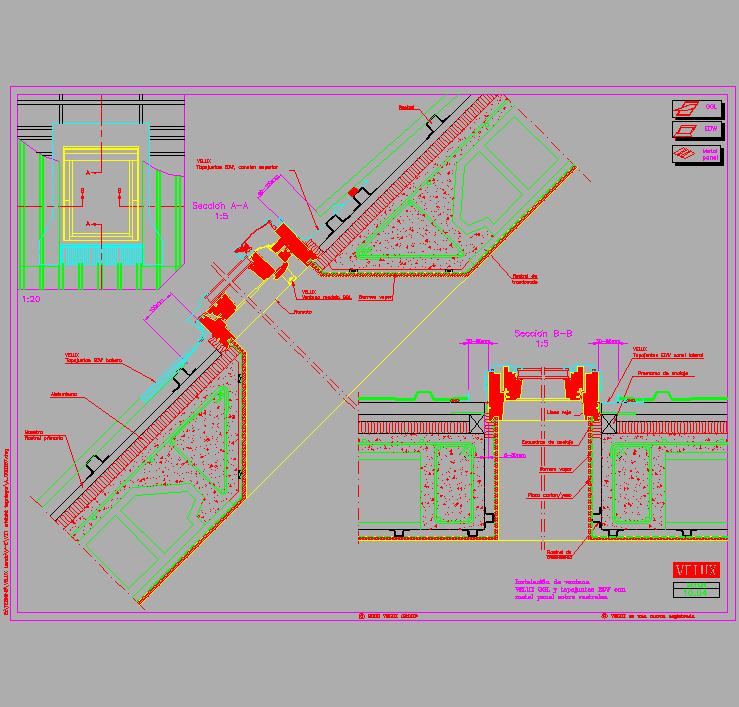 Cad projects biblioteca bloques autocad arquitectura y - Chapa metalica ondulada ...