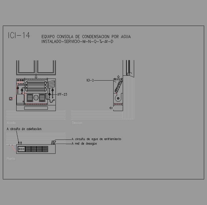 Cad projects biblioteca bloques autocad arquitectura y for Radiador dwg