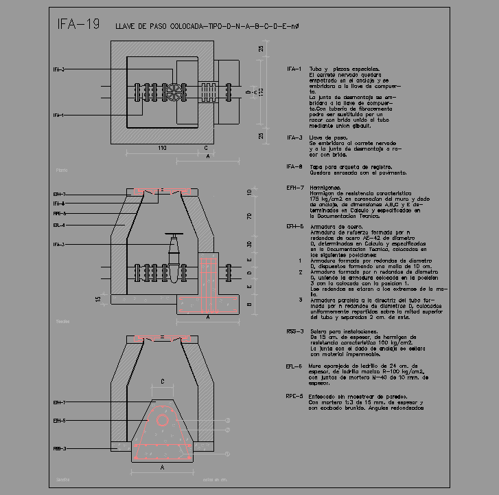 Cad projects biblioteca bloques autocad ifa 19 llave for Inodoro dwg