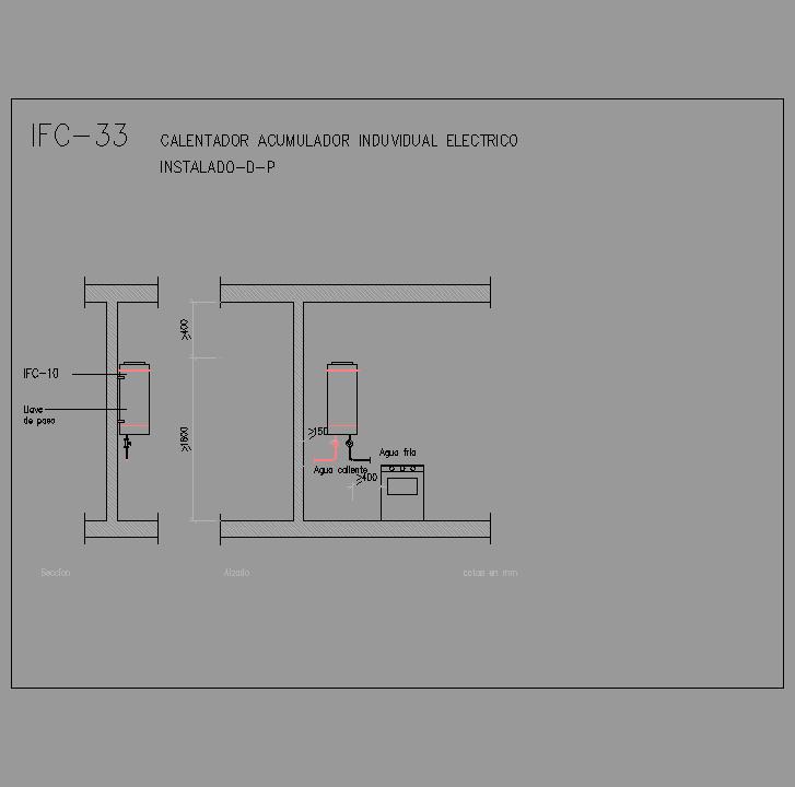 Cad projects especificaciones norma nte ifc - Acumulador de agua electrico ...