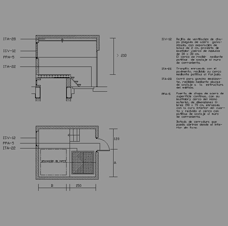 Cad projects biblioteca bloques autocad arquitectura y for Dimensiones de albercas