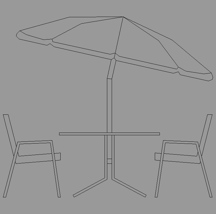 Cad projects biblioteca bloques autocad mesa con for Bloques autocad 2d