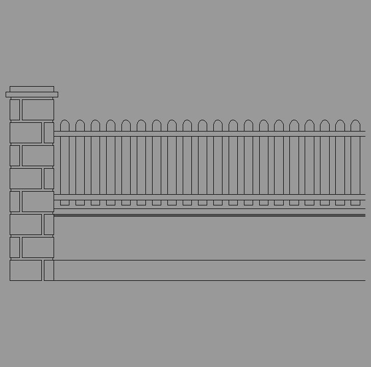 Cad projects biblioteca bloques autocad arquitectura y - Muro de bloques ...
