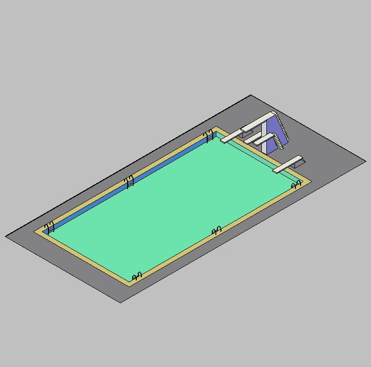 Cad projects biblioteca bloques autocad arquitectura y for Programa diseno de piscinas 3d gratis