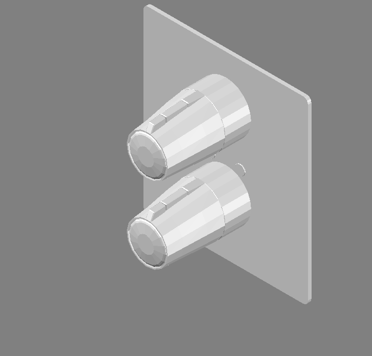 Cad projects biblioteca bloques autocad griferia for Griferia para duchas de bano