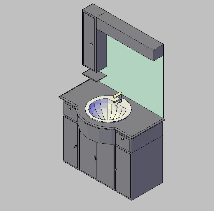 Ba o 3d autocad gratis cvillebgclub for Diseno de interiores 3d data becker
