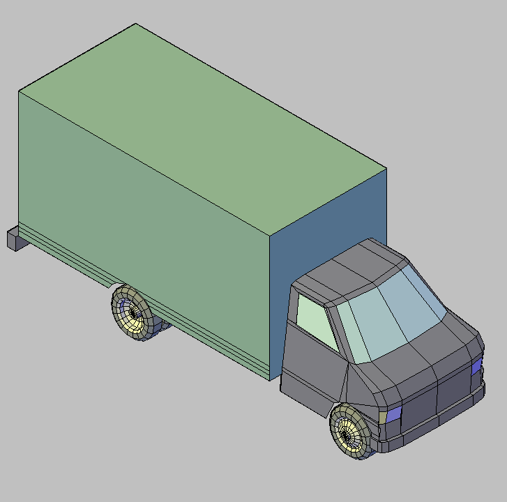 Cad projects biblioteca bloques autocad camioneta for Porte 3d dwg